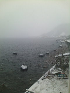 晴れのち大雪